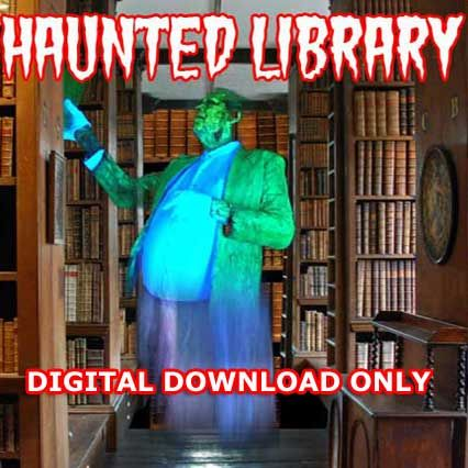 HAUNTED LIBRARY DIGITAL DOWNLOAD